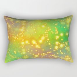 Out Of This World Abstract Rectangular Pillow