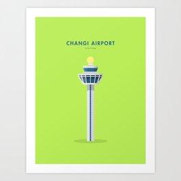 Changi Airport, Singapore [Building Singapore] Art Print