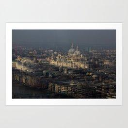 St Paul's Multiplied Art Print