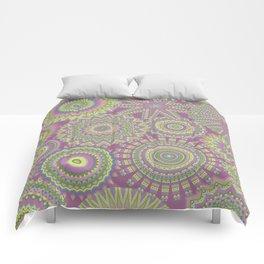 Kaleidoscopic-Fairytale colorway Comforters