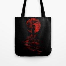 Rainman in Red Tote Bag