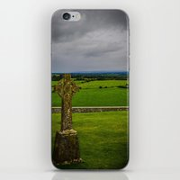 cross iPhone & iPod Skins featuring Cross by Ashley Hirst Photography