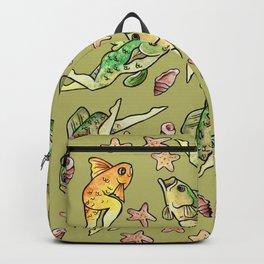 Reverse mermaids Backpack