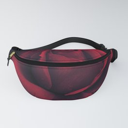Gothic Rose Print Fanny Pack