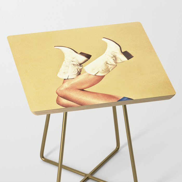 These Boots Side Table