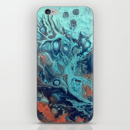 Spinning Into Place iPhone Skin