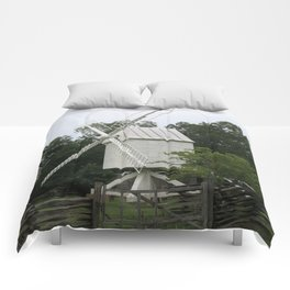 White Mill - Colonial Williamsburg Comforters