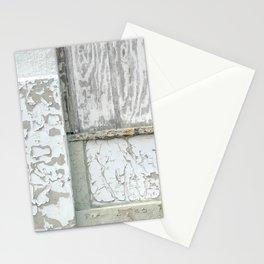 white peeling paint Stationery Cards