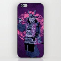 Samurai Kitty iPhone & iPod Skin