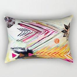 """True North"" Original Painting by Flora Bowley Rectangular Pillow"