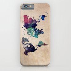 Cold World Map iPhone 6s Slim Case