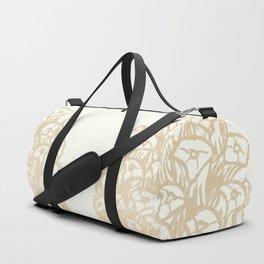Golden Pine Cone II Duffle Bag