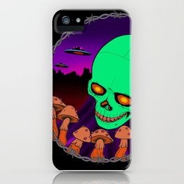 Death trip iPhone Case