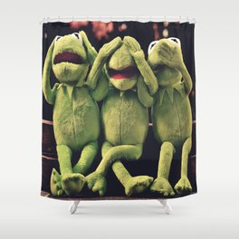 Kermit - Green Frog Shower Curtain
