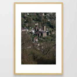 St Luke's Church Ironbridge Framed Art Print