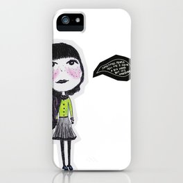 Easy Goin' iPhone Case