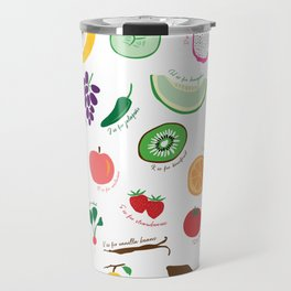 ABC Fruit and Vege Travel Mug