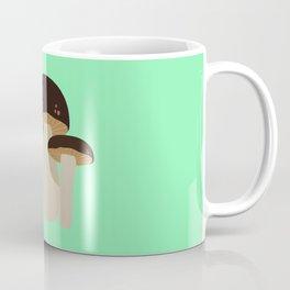 Brown Mushrooms T-Shirt for Women, Men and Kids Coffee Mug