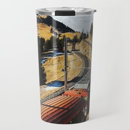 Cogwheel Train on Mount Rigi Travel Mug