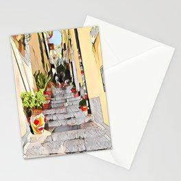 Market place hallway Stationery Cards