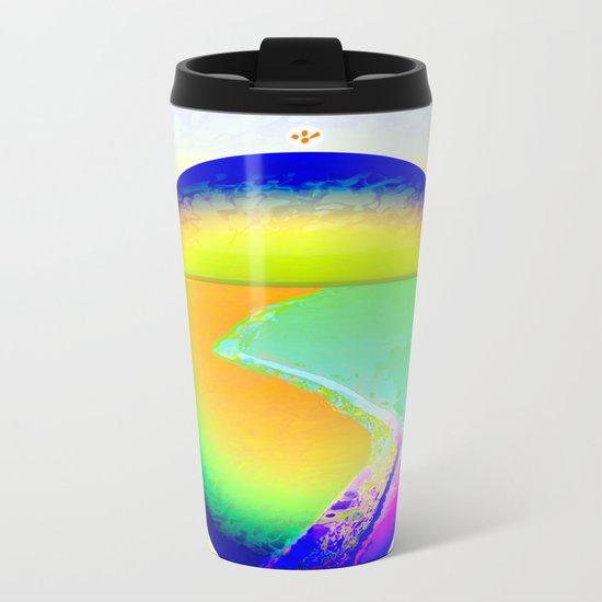 Iceberg A68 - Ultraviolet Metal Travel Mug