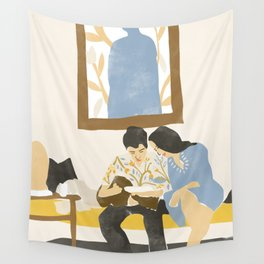 You and me and the music Wall Tapestry