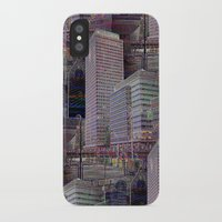 the office iPhone & iPod Cases featuring office Dayze by David  Gough