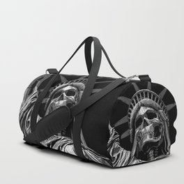 Liberty or Death B&W Duffle Bag