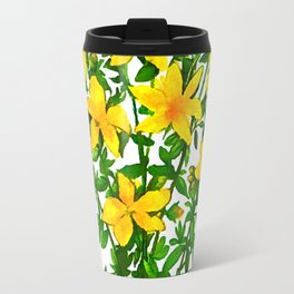 Hypericum perforatum Travel Mug