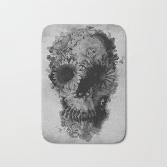 Skull 2 / BW Bath Mat