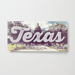 Texas Summer Metal Print