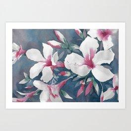 Desert Rose Art Print