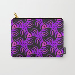 Wild Horses 3 pattern by Amanda Martinson Carry-All Pouch