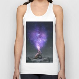 All Things Share the Same Breath Unisex Tank Top