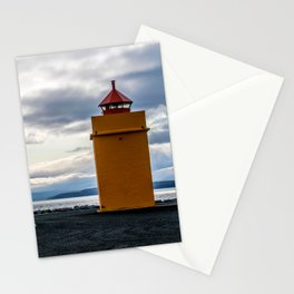 Lighthouse at the Point Stationery Cards