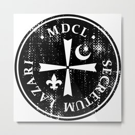 Knights Of Lazarus Discovery Of Witches Metal Print