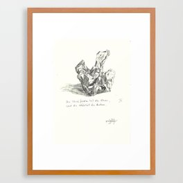 what do you see 6 Framed Art Print