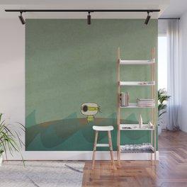 Little Green Pirate Wall Mural