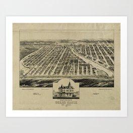 Ocean Grove, New Jersey (1881) Art Print