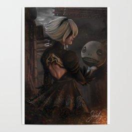Nier: Automata 2B Poster