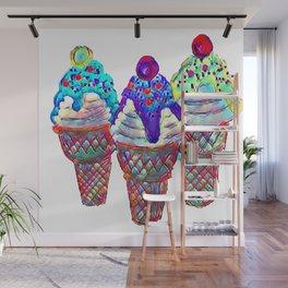 i Scream Wall Mural