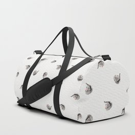 Baby Elephant with Flower Crown Duffle Bag
