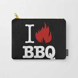 I Love BBQ Carry-All Pouch