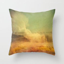 I dreamed a storm of colors Throw Pillow