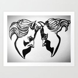 Nameless Ghouls Art Print
