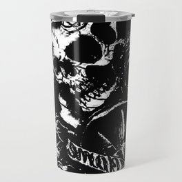 Skull collage,custom gift design Travel Mug