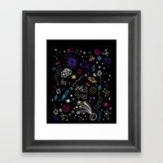 SPACE FANTASY Framed Art Print