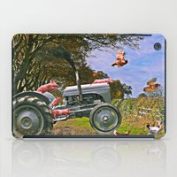 pigs iPad Cases featuring Freedom Pigs by Jelly Roger
