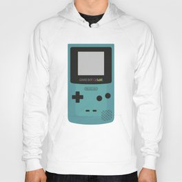 Game Boy Color - Turquoise Hoody