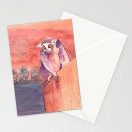 Madagascar's lemur catta Stationery Cards